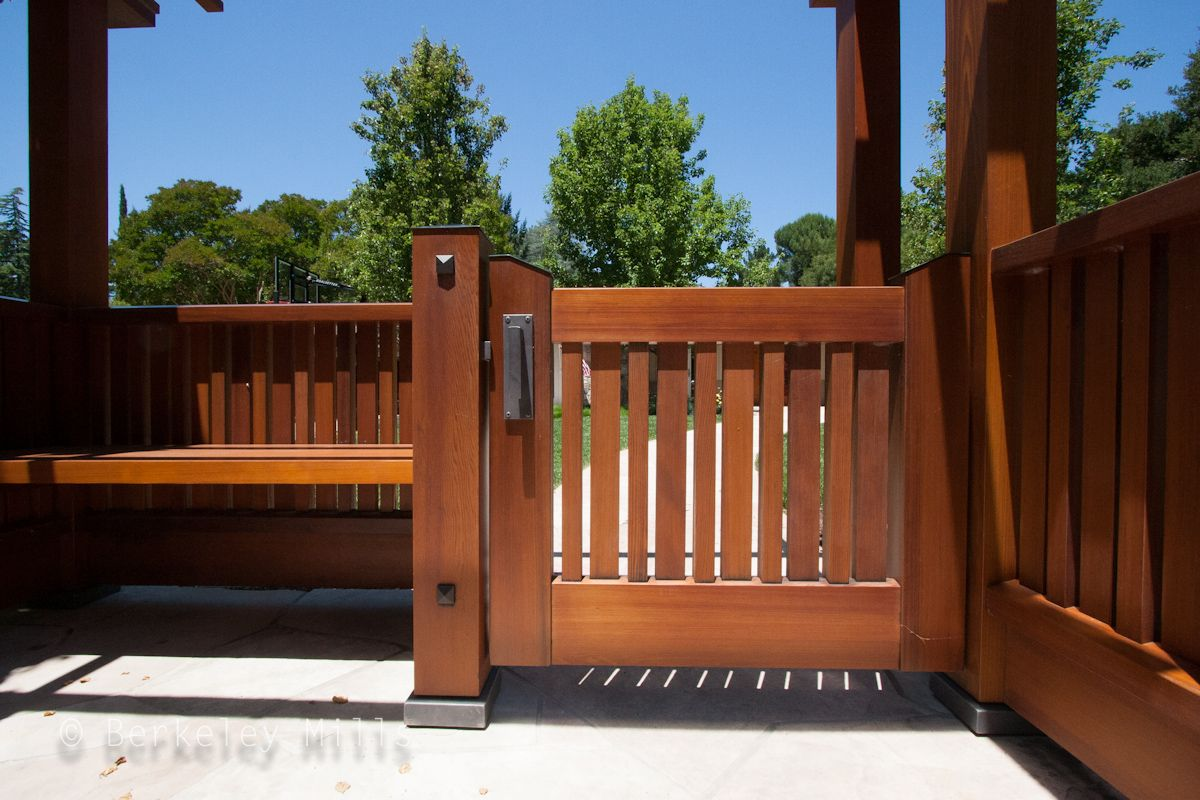 Custom Fence And Gate Arts Crafts Architectural Millwork