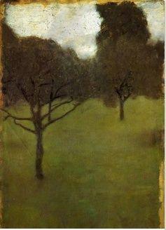 Gustav Kilmt Orchard 1898