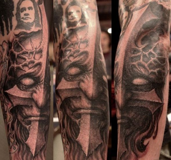 Design Of Tattoosdesign Of Tattoos: Paul Booth Macabre Full Sleeve Tattoo