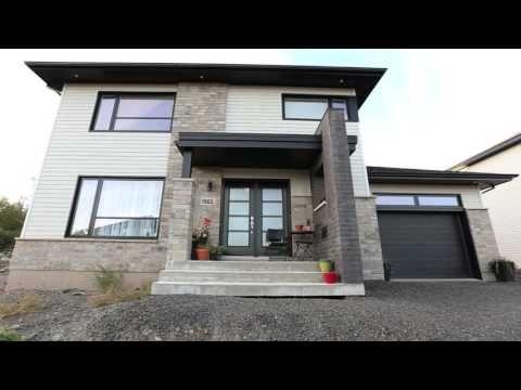 Maison unifamiliale 2 étages avec garage contemporaine, Prix Nobilis - prix de construction maison