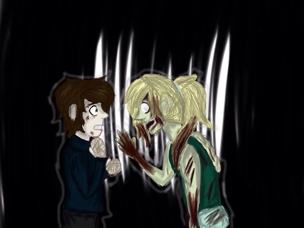 Ticci Toby and his dead sister,Lyra | My art in 2019 | Art, Anime