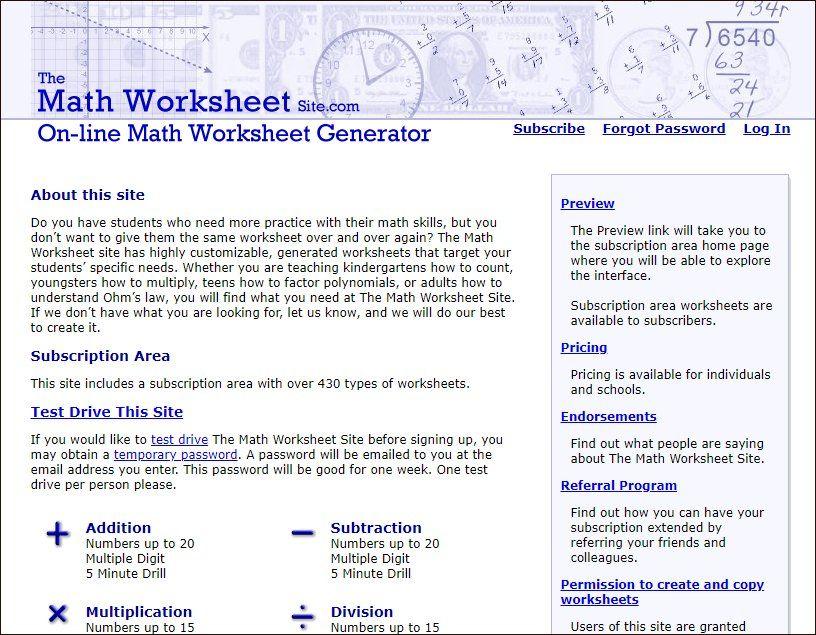 Math Puzzle Generators Grav Math Line Math Maths Puzzles