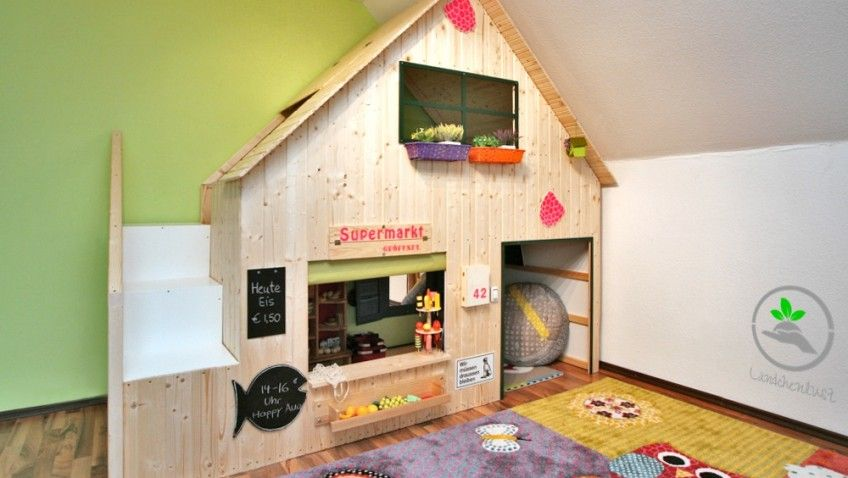 Une cabane diy pour nos enfants cabane diy cabanes et diy - Fabriquer une mezzanine lit ...