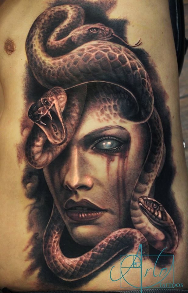 Awesome Medusa Tattoo Tattoo Ideas Medusa Tattoo