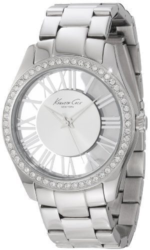 "Kenneth Cole New York Women's KC4851 ""Transparency"" Crystal-Accented Stainless Steel Watch, http://www.amazon.com/dp/B0073O08K8/ref=cm_sw_r_pi_awdm_OKe0ub0GVZH83"