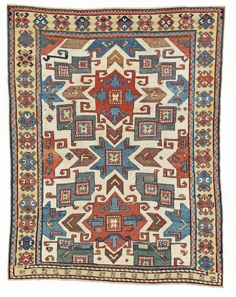 The 8 October 2017 Of Carpets At Christie S King Street London Will Include Eye Catching Vanderbilt North Indian Pashmina Star Lattice Carpet