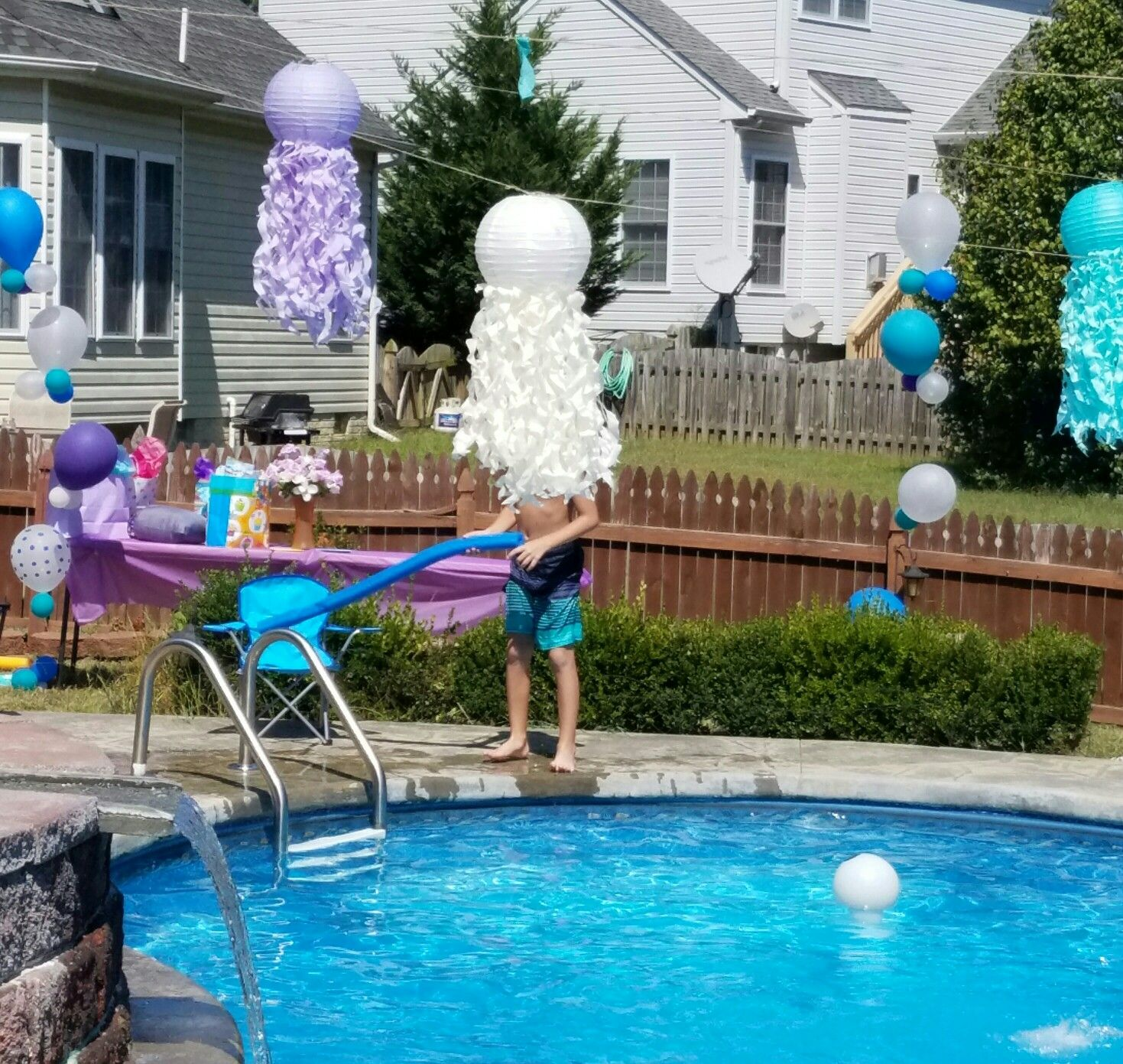 jellyfish laterns and bubble balloons lailah u0027s mermaid under the