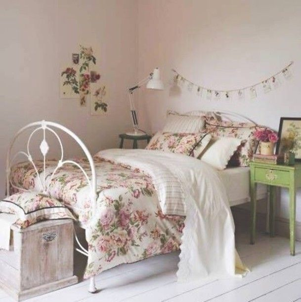 Bedroom Bedding Duvet Comforter Bed In A Bag Cute Adorable Vintage Hipster Indie Floral Flowers Comfy Fantastic Artsy Romantic Rose Print Sweater