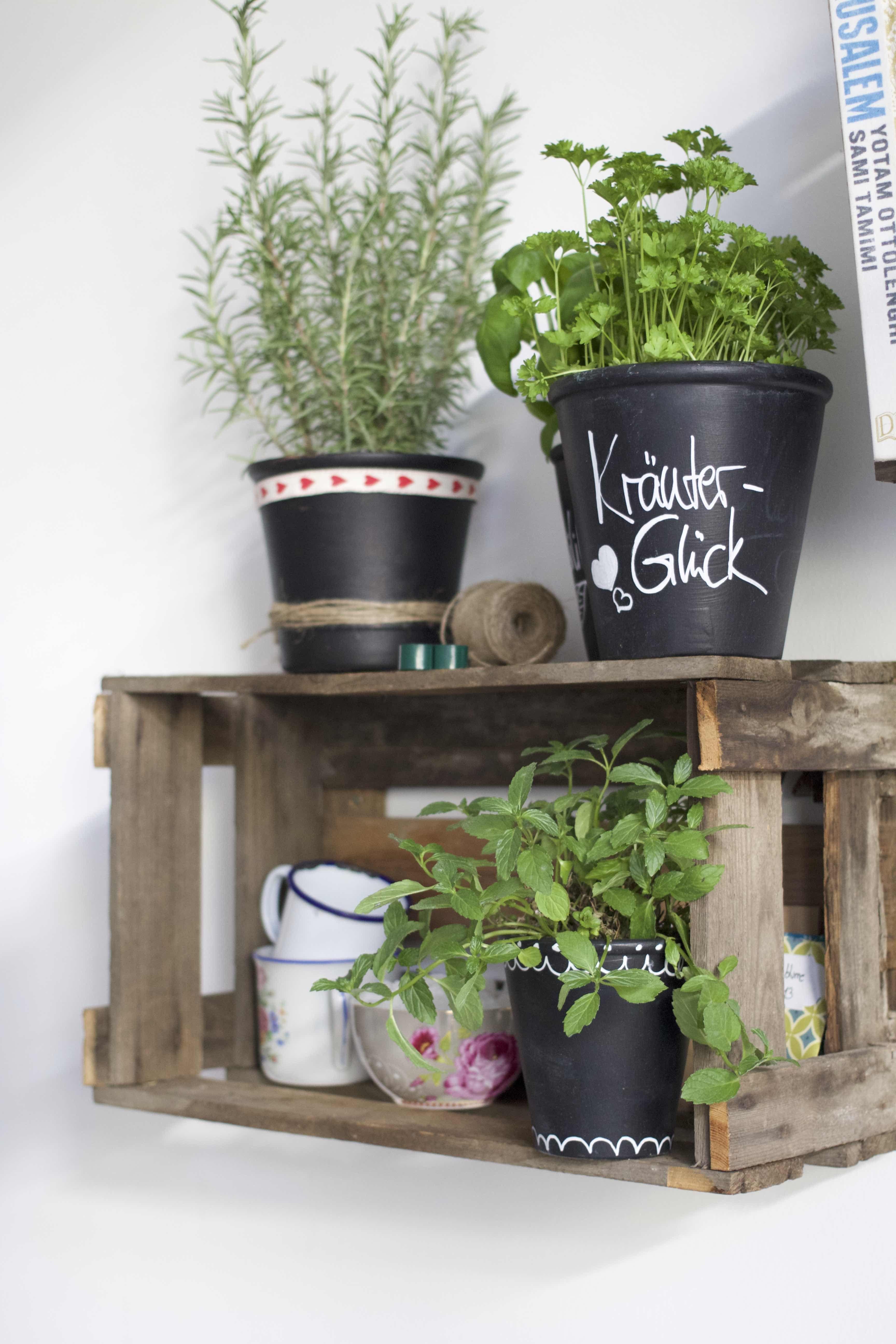blument pfe mit tafelfarbe versch nern pinterest tafelfarbe tafellack und balkon. Black Bedroom Furniture Sets. Home Design Ideas