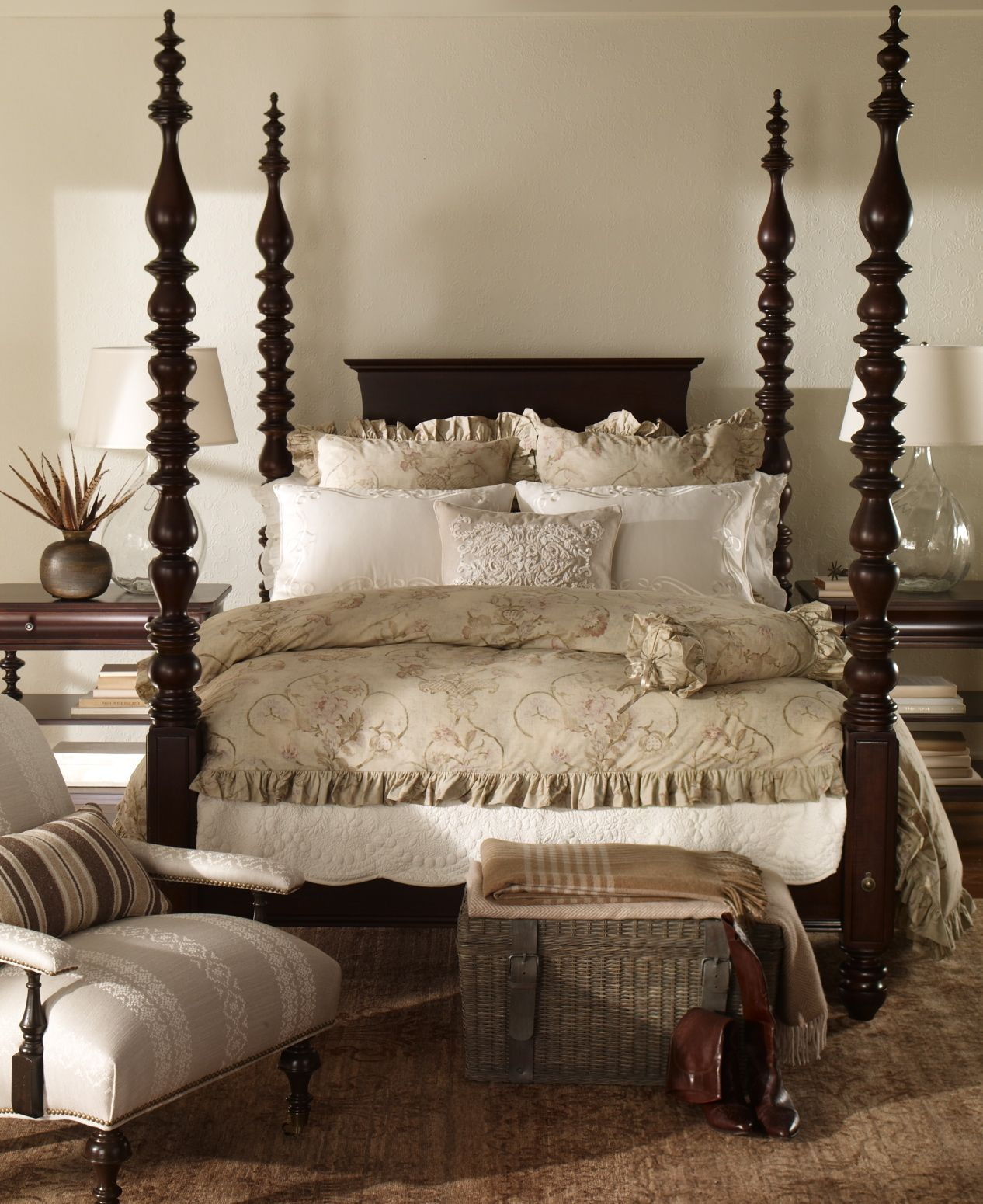 The Turner bed is turned out in a assortment of