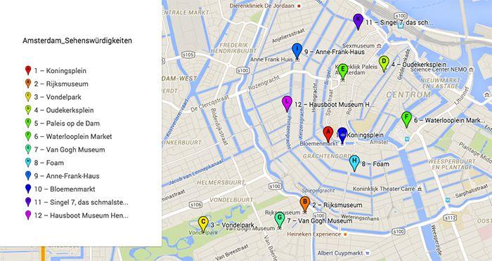 Insider Tipps Fur Amsterdam Top Sehenswurdigkeiten Mehr