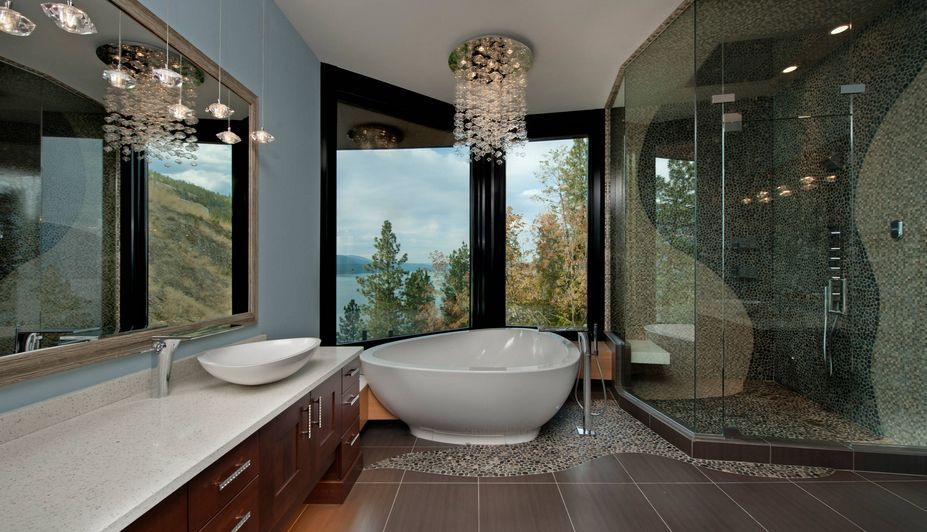 50 bathrooms that know to make the most of great views