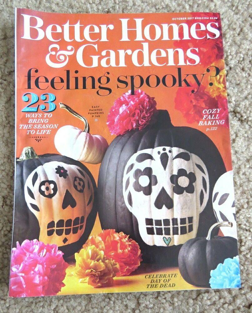 a59410b70e66499500d101aff427b23b - Better Homes And Gardens Halloween Tricks And Treats Magazine 2017