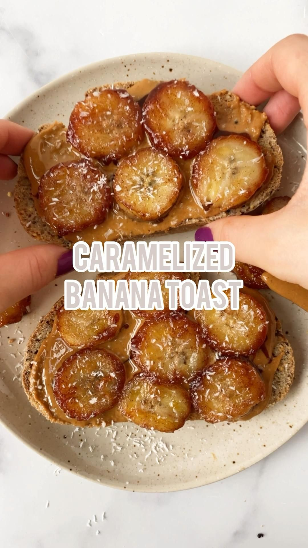 29+ exquisite Peanut Butter Toast with Caramelized Bananas   Veggie World Recipes