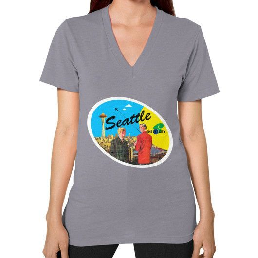 Rocco's Jet City 2 Women's V-Neck