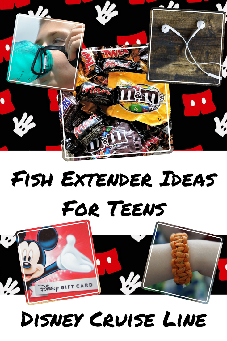 Fish Extender Gift and Craft Ideas for Teens - Teen Girls and Teen Boys - Disney Cruise Line Fish Extender Gifts
