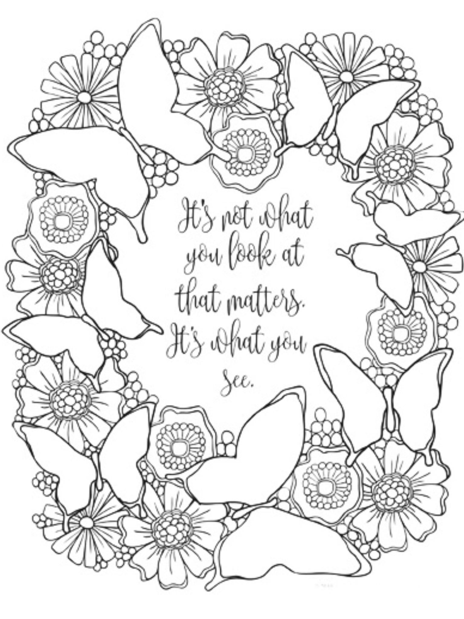 Adult Coloring Pages Image By Tan2914 Butterfly Coloring Page
