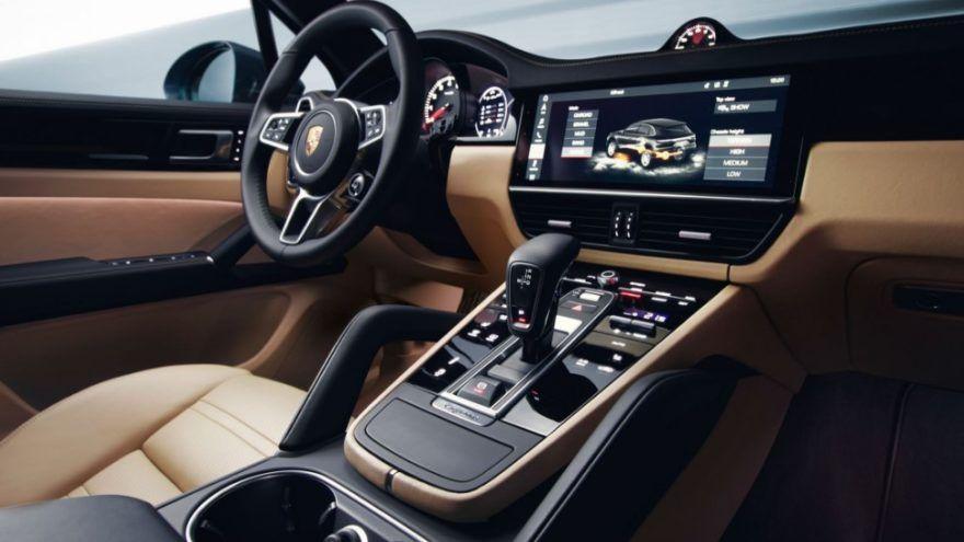 New Porsche Cayenne Interior