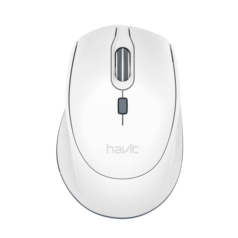 dc417172fccc Havit 2.4G Wireless Mouse 2000DPI Optical Mini Portable Mobile with ...