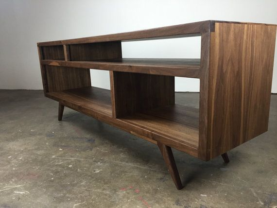 d31f0ffa2aa The Bacon a mid century modern TV console TV stand by MonkeHaus