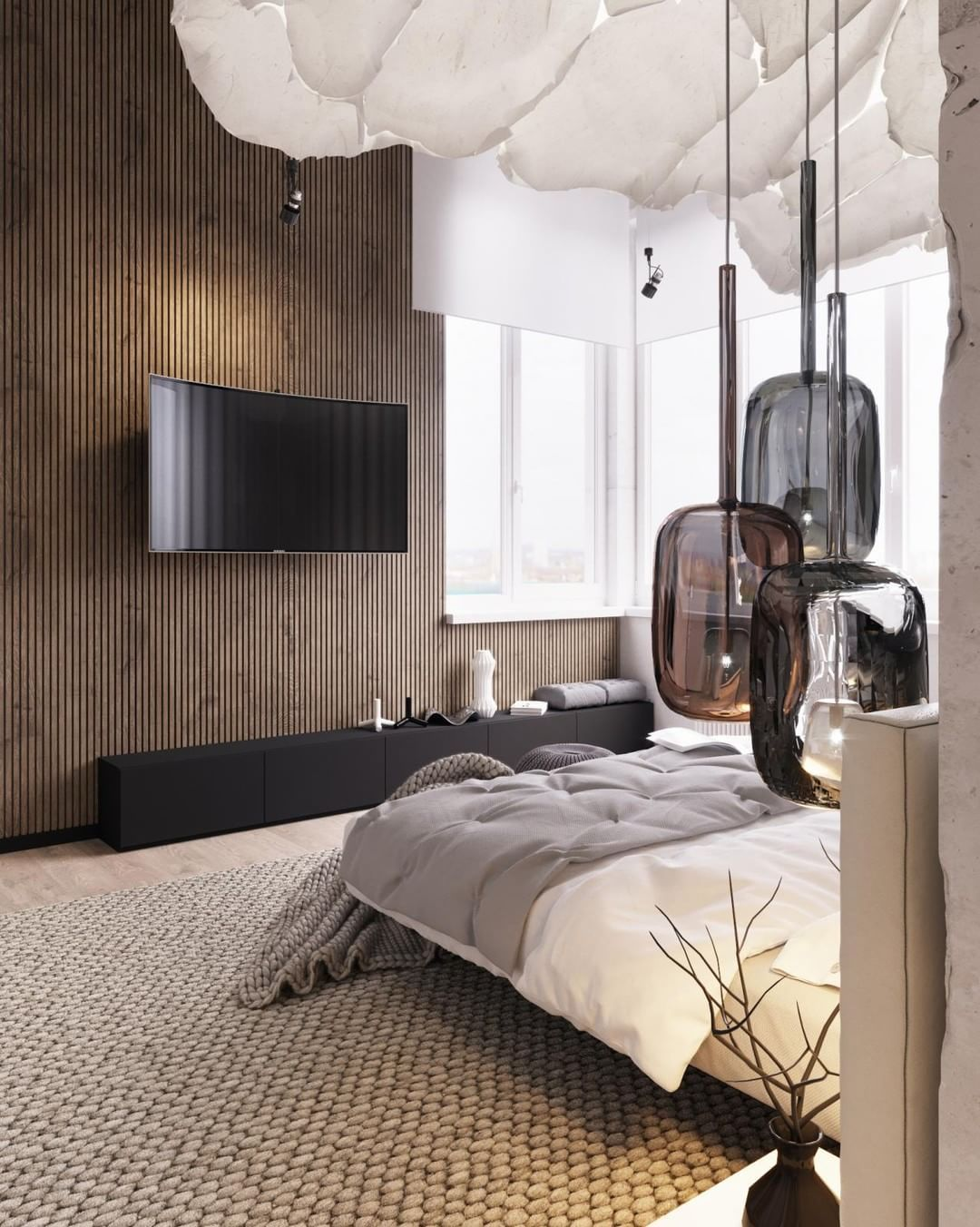 Master bedroom modern  Beautiful Master Bedrooms with Modern Interior Decor  Beautiful