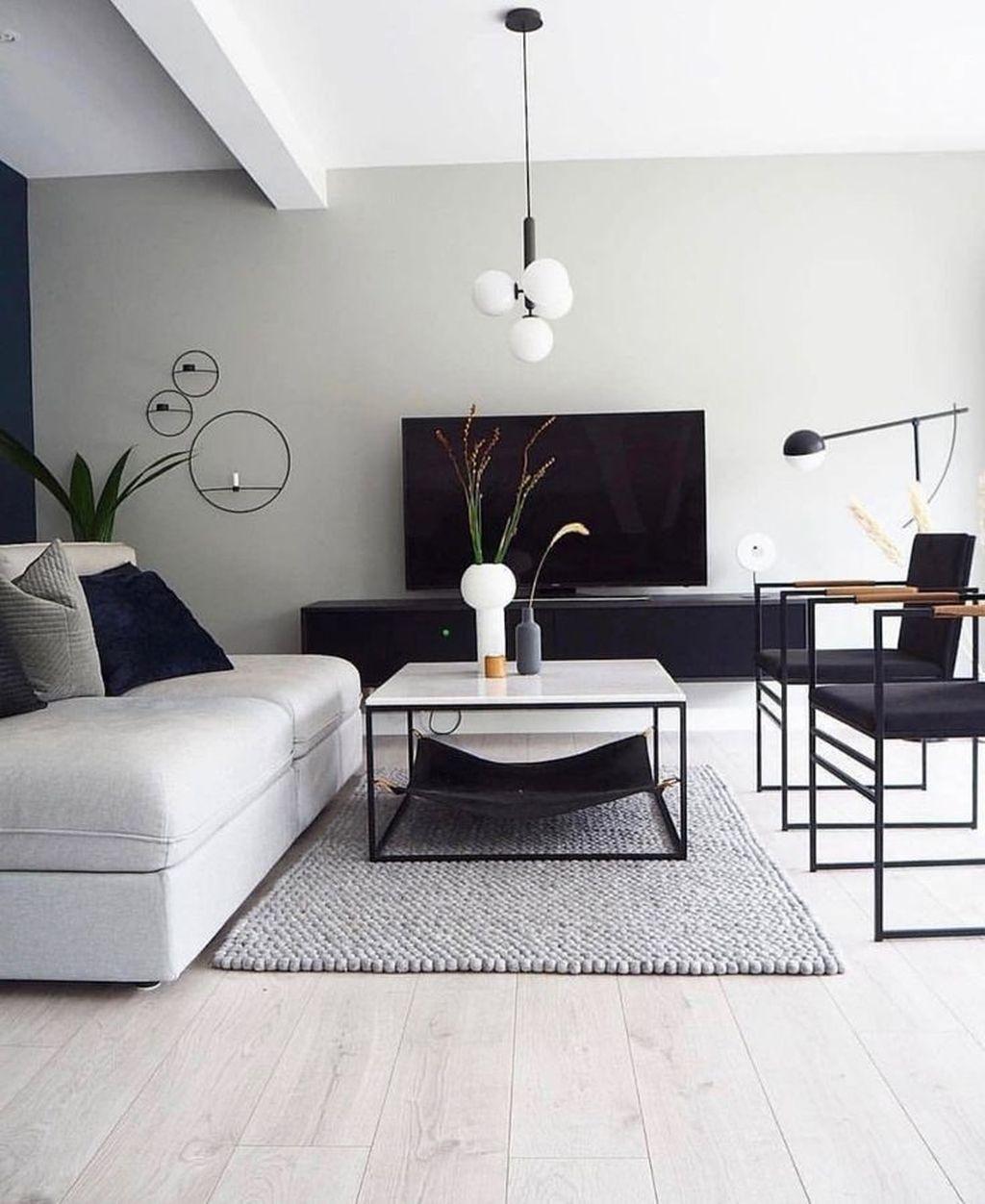 37 Awesome Monochrome Living Room Decor Ideas Monochrome Living Room Stylish Living Room Modern Rustic Living Room Stylish living room decor