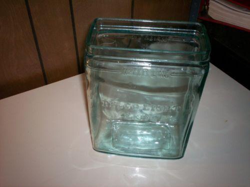 Vintage Delco Light Exide Glass Battery Jar Jar Glass Mason Jars