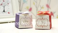 Caixa de chocolate 20 X Frete Grátis Rosa vermelha Nobreza Romântico presente Rose flor Favor caixa casamento caixas dos doces