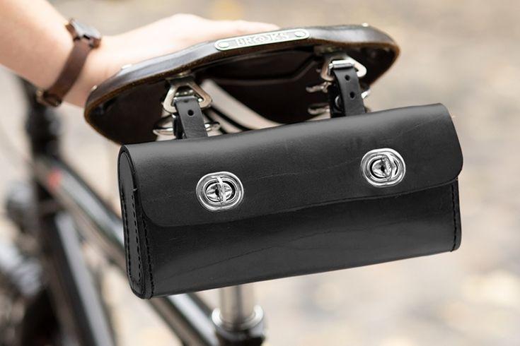 Satteltaschen, passend für den stylishen Brooks Sattel. Das