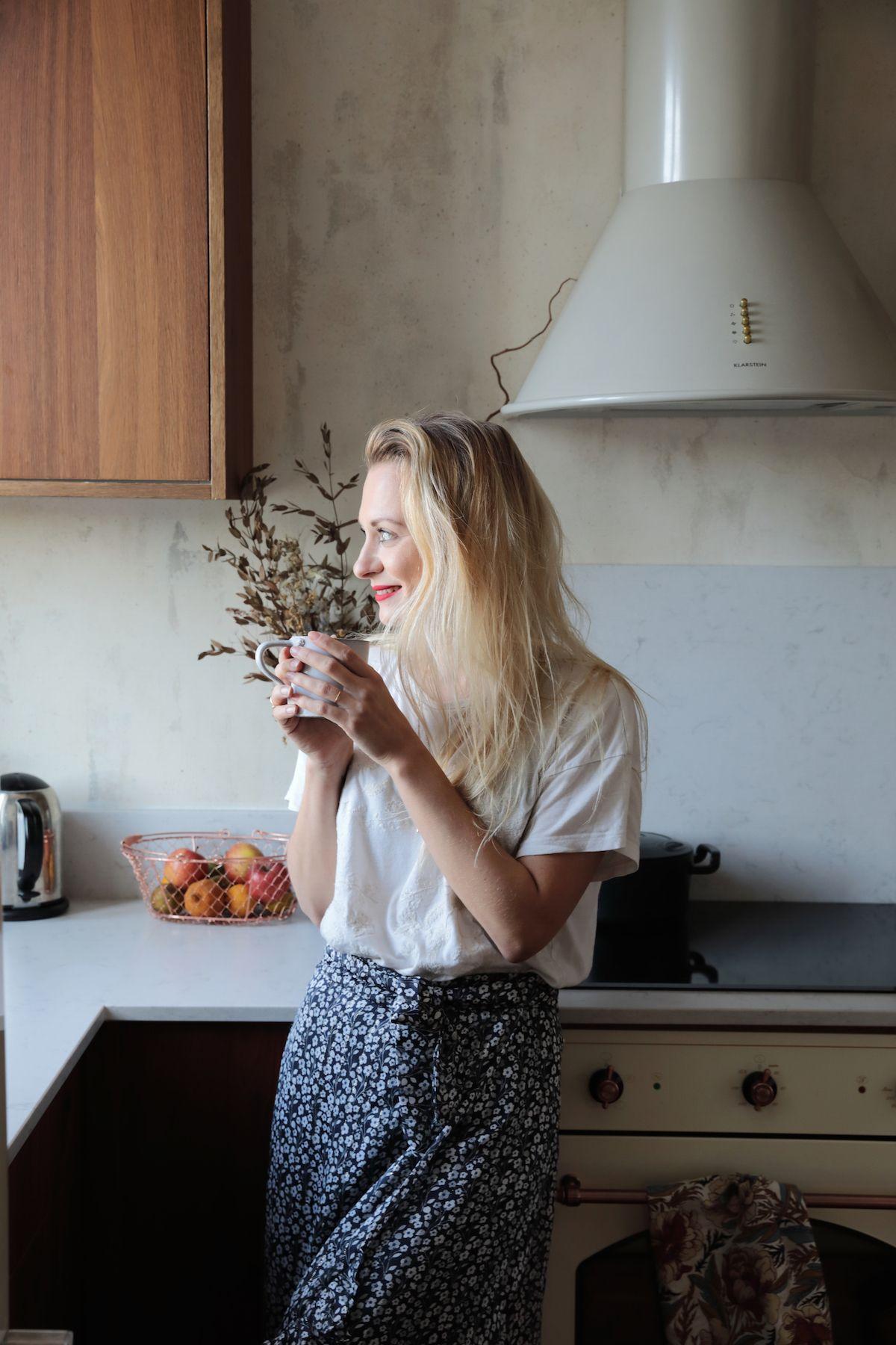 Bienvenue Dans Le Duplex Boheme De Chloe You Hello Blogzine Briquette De Parement Duplex Planche A Decouper Marbre