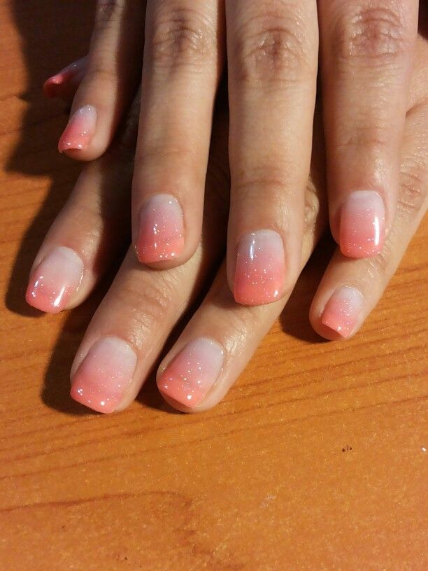 Hermoso esmaltado permanente en degrade nails vivi u as pinterest u as u as - Unas permanentes decoradas ...