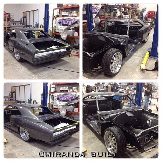 1970 Dodge Charger #mirandabuilt #extreme_performance #mopar #dodge #charger grey brushed machined