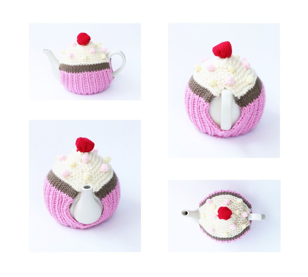 Funky Free Knitting Patterns For Cupcakes Composition - Blanket ...