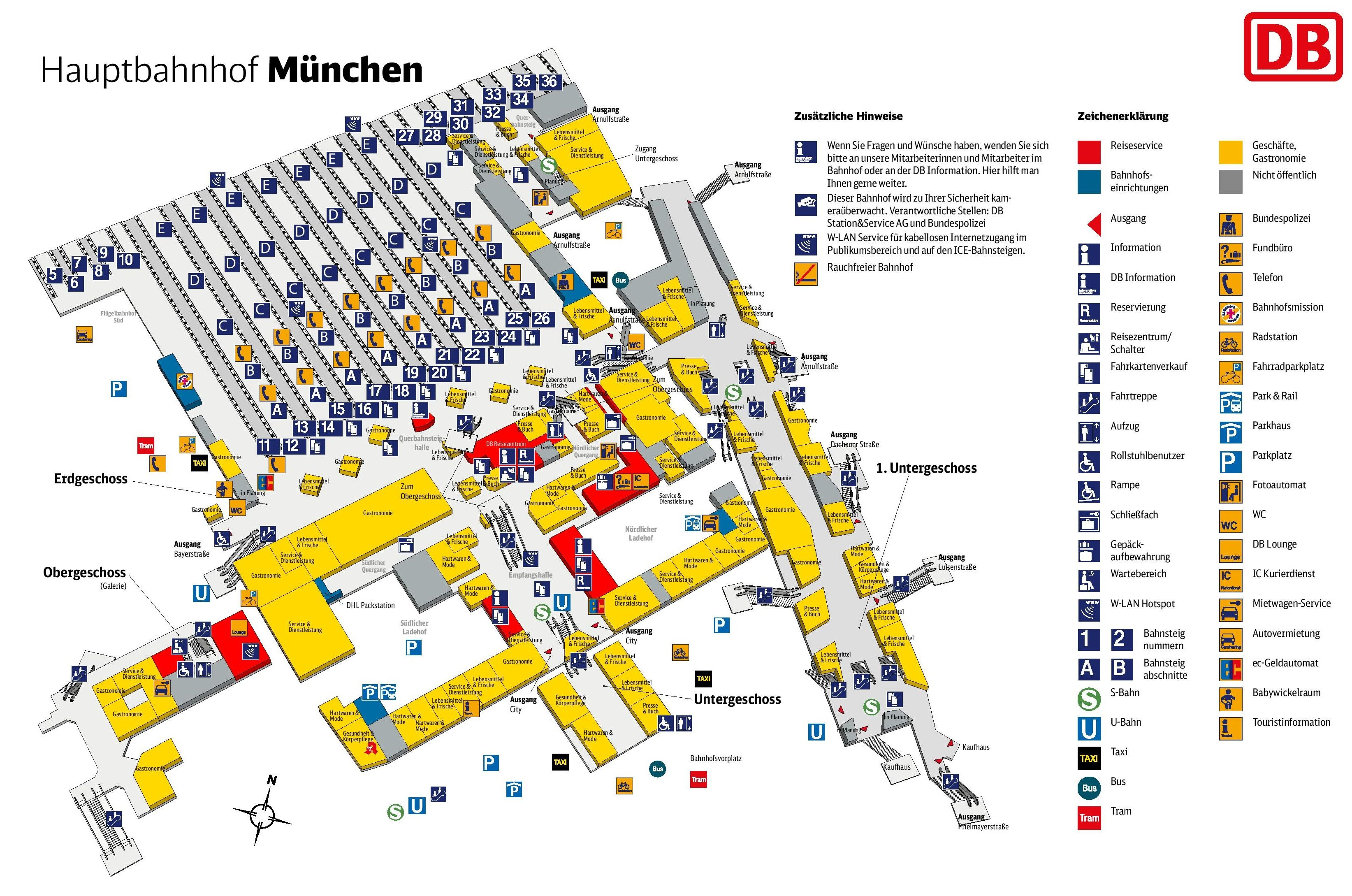 Image result for nuremberg train station platform map
