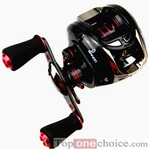 Instant anti-reverse bearing  Very smooth casting and retrieving and Eva foam handle High strength power drive gear gives smooth drag performance Synchronized level wind system improves line lay and castability 6 pin machined centrifugal brake gives consistent brake pressure throughout the cast