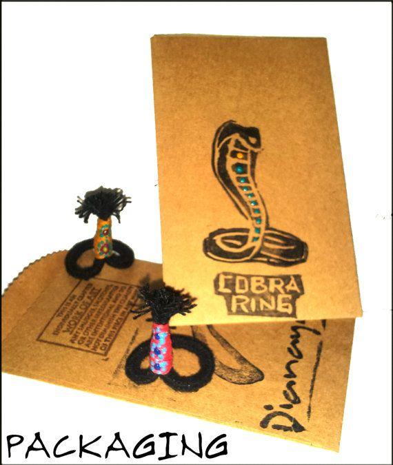 Buy1 Get1 FREE Sale b4 Christmas. 6-6.5 COBRA Ring. by DIANAYA