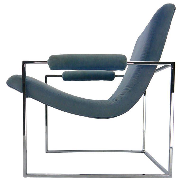 Best Minimalist Lounge Chair By Milo Baughman For Thayer Coggin 400 x 300