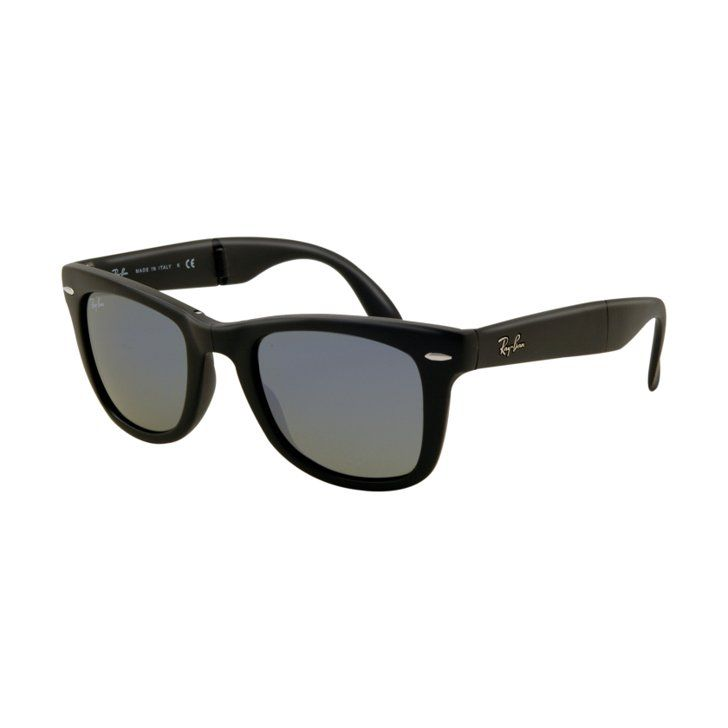 Pin for Later: 15 Healthy Essentials For Your Summer Beach Bag! Hide Your Eyes Stand out from the bikini-clad crowd in these Ray-Ban Folding Wayfarers ($155) that are a handy spin on a cult classic frame.