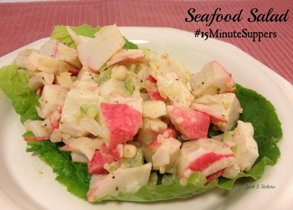 Easy seafood salad recipe sea food salad recipes