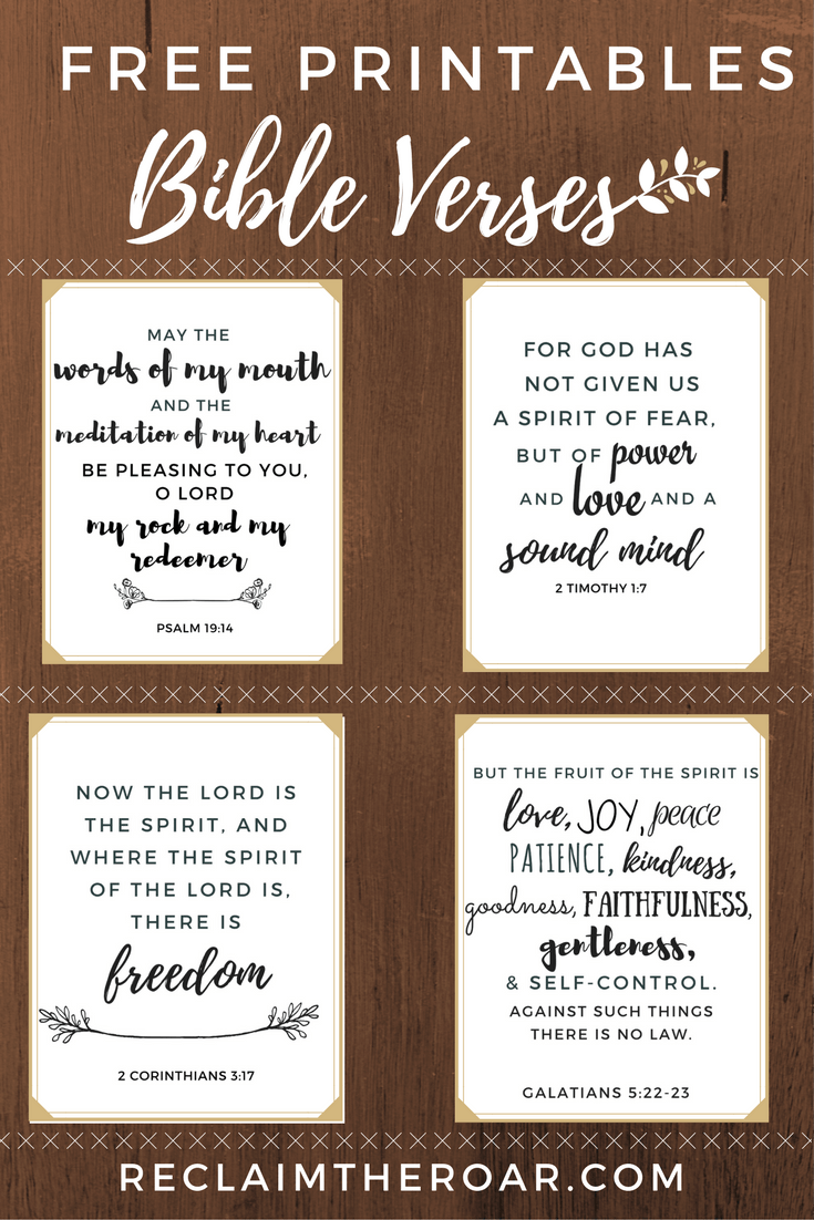 graphic relating to Free Printable Scripture Verses titled Pin upon Printables
