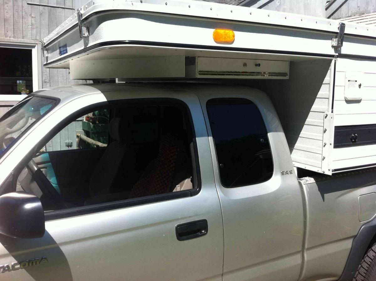 Wind Deflectors Pop Up Truck Campers Truck Camper Camper