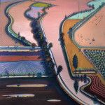 Levee Farms by Wayne Thiebaud on Curiator - http://crtr.co/2nug
