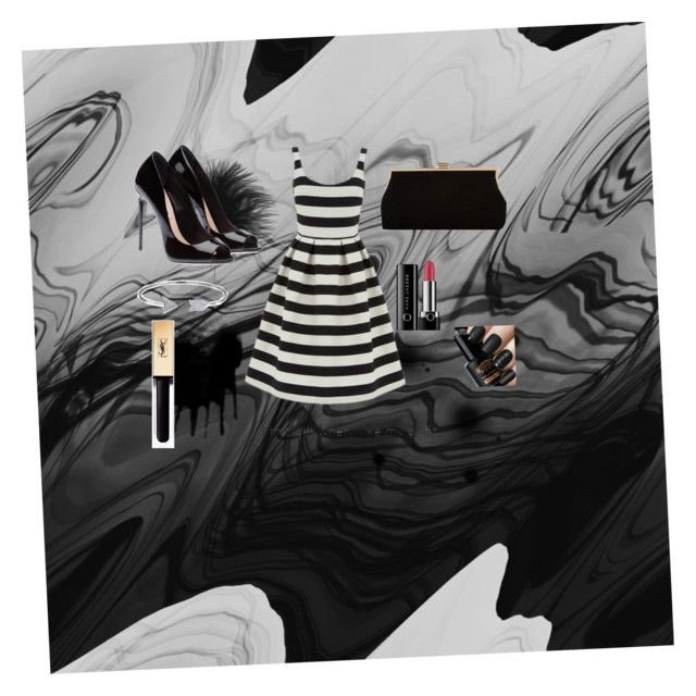 """Fancy dress"" by projectalice5 on Polyvore featuring Warehouse, Monsoon, Bling Jewelry and Marc Jacobs"