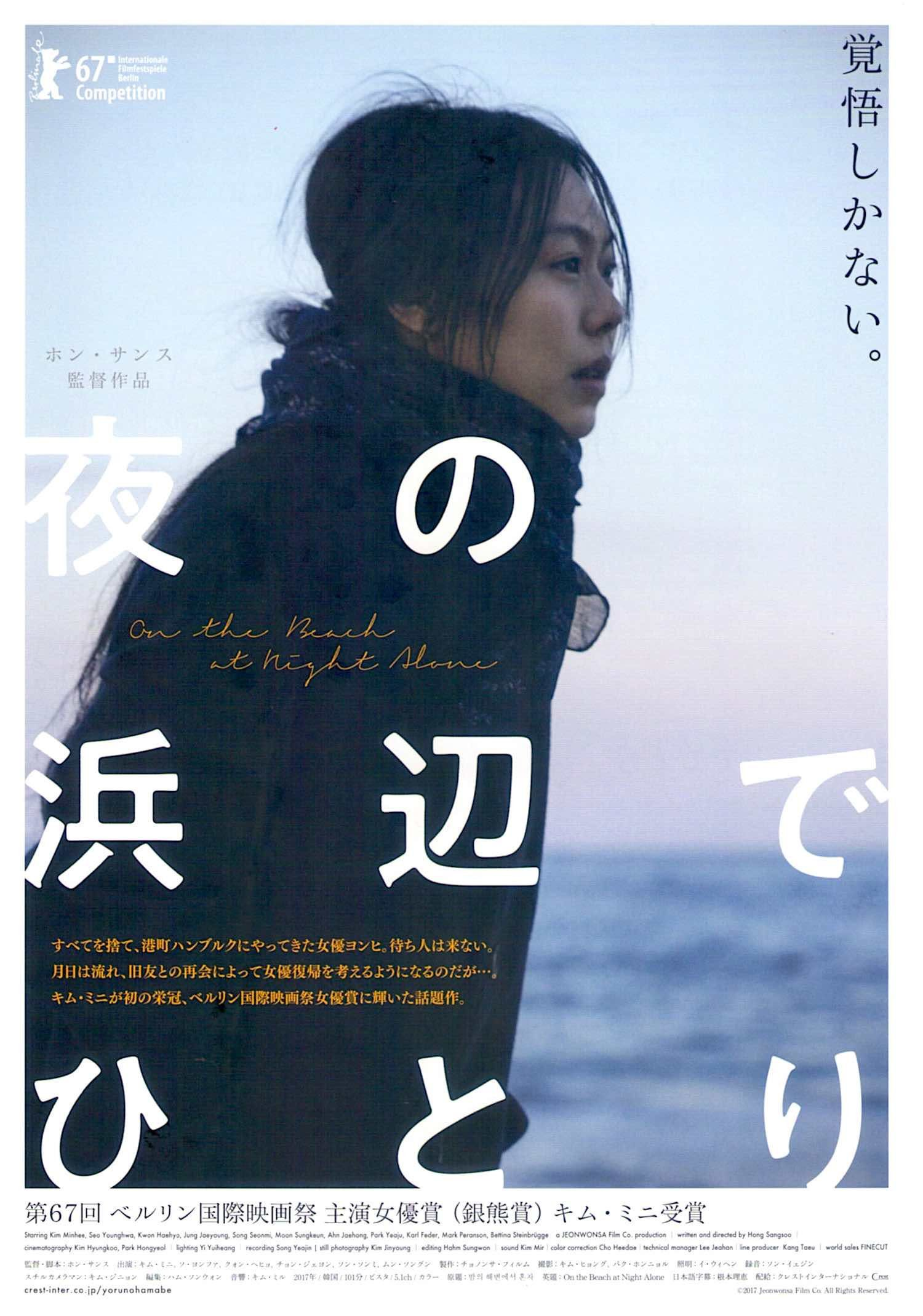 On the Beach at Night Alone Korean Cinema, Hong Sangsoo