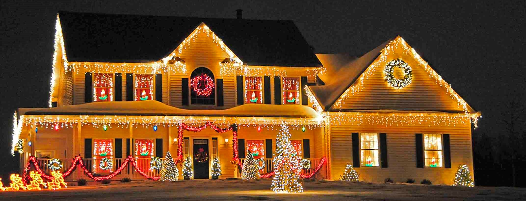 If You Hire A Company To Perform Your Christmas Lights Installation Then You Ll Need To Plan Christmas House Lights Christmas Lights Outside Outdoor Christmas