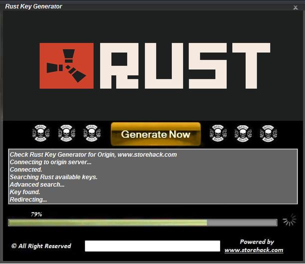 rust  activation key