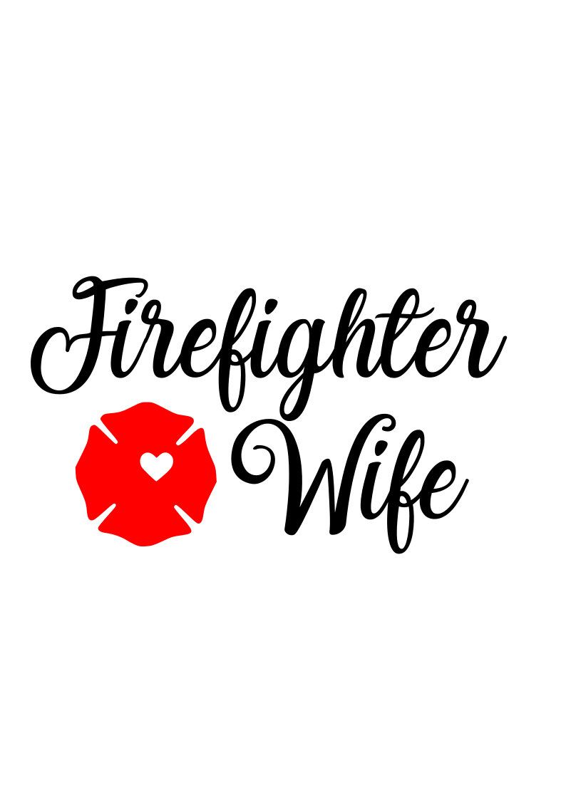 Excited To Share This Item From My Etsy Shop Firefighter Wife Svg Maltese Cross Svg Firefighter Svg Firefightersvg Fire Wife Firefighter Wife Cross Svg