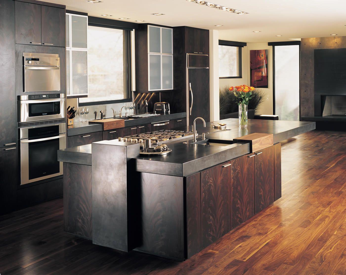 kitchen-astounding-boulder-kitchen-decoration-with-mahogany-wood ...