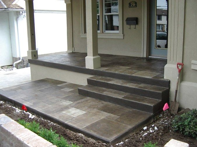 I Could Paint The Concrete Patio Like This For A Year To Make It Look Nice  Until We Replace It.