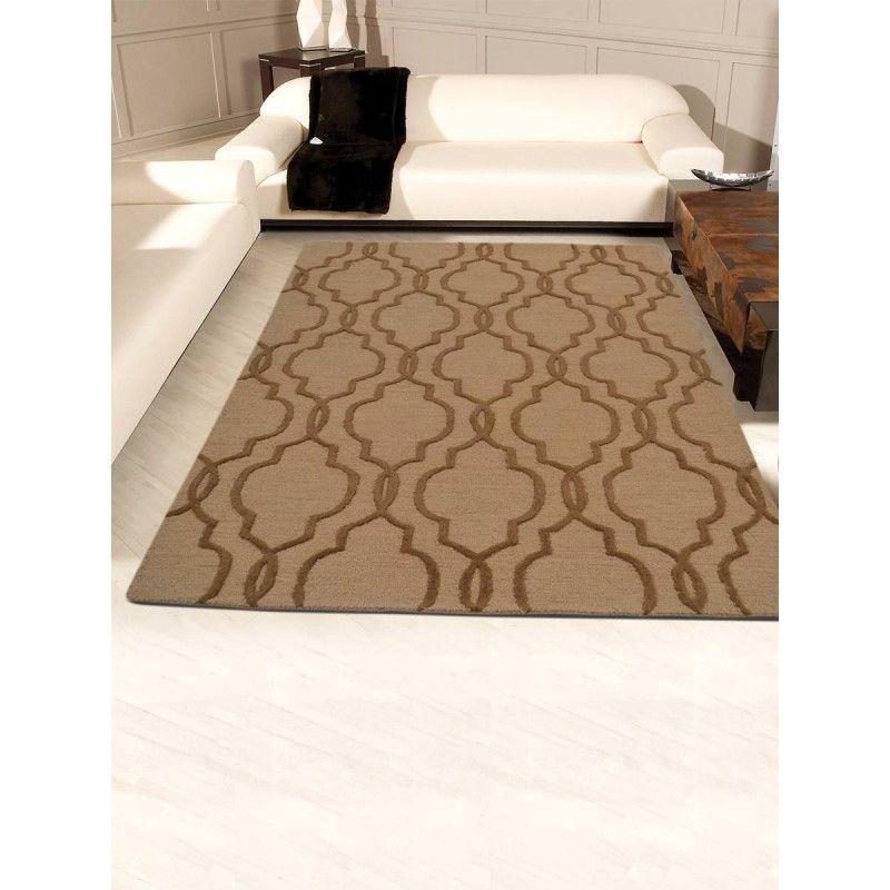 Buy Designer Carpets For Home Online India Get At Wholesale Discount Silk Woolen Oriental Jaipur Kash Brown Area Rugs Patterned Carpet Transitional Carpet